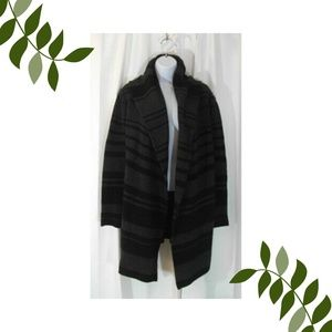 Vince. Sophie cardigan sweater XS black gray
